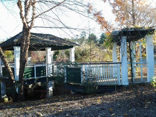 The Frelinghuysen Arboretum: Gazebo/bridge