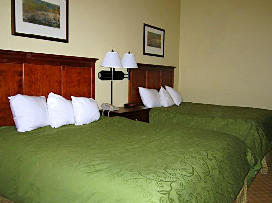 Country Inn & Suites By Carlson, Birch Run: Hotel Room Beds