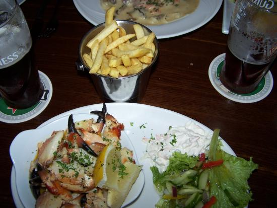 Crotty's : crab claws