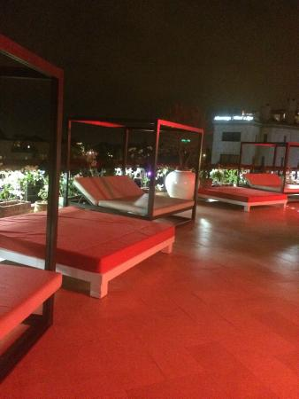 The Pearl Marrakech : Relaxation au Sky Bar