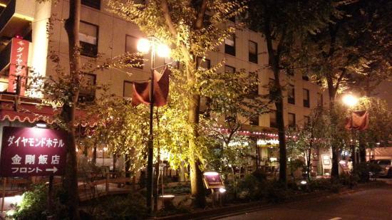 Diamond Hotel: 夜景