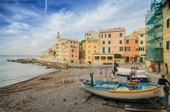 Genoa Italy Neighborhoods