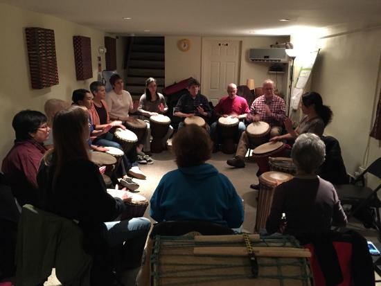 DrumConnection: Wednesday Night Drum Class with Audrey!