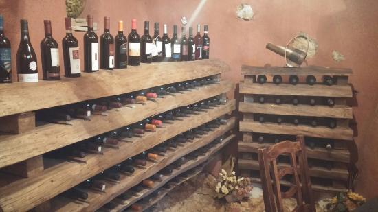 Campoli Appennino, Włochy: Sala dei vini