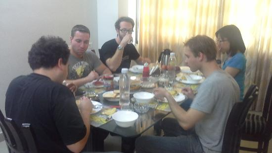 BLESSINGS Bed and Breakfast : Amazing breakfast after late arrival (4 am) the night before