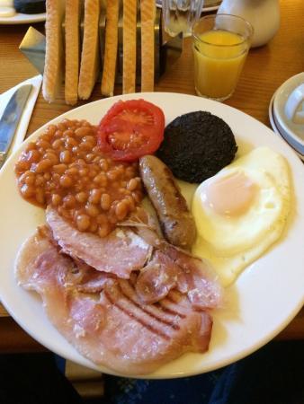 Haymarket Hotel: Desayuno típico escocés