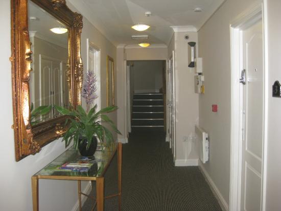 Yarm Apartments: main entrance hall