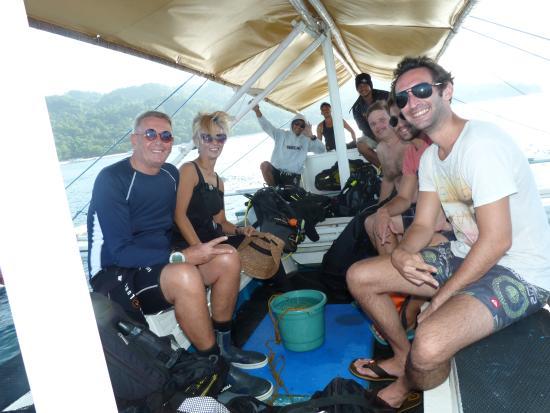 Artistic Diving Resort: diving tour