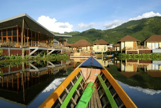 Novotel Inle Lake Myat Min How You Will Roach The Jetty Bar To