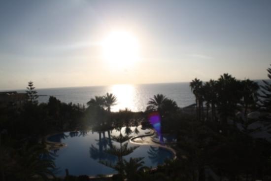 SENTIDO Aziza Beach Golf & Spa: Ausblick vom Zimmerbalkon