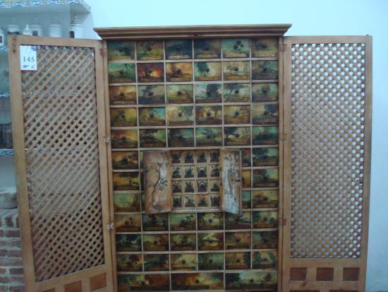 Ancien meuble pharmacie picture of museo de las casas for Meuble pharmacie