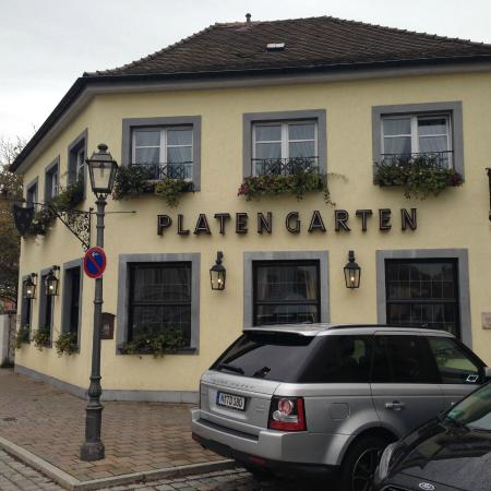 Hotel der Platengarten: outside building