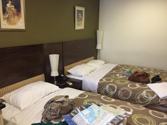 City Garden Hotel: Comfy beds