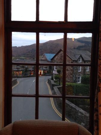 Beddgelert Antiques and Tea Rooms: View from my bedroom window