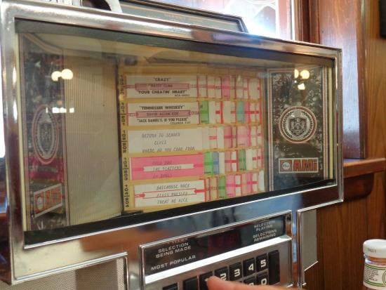 Juke Box at Tastee Diner