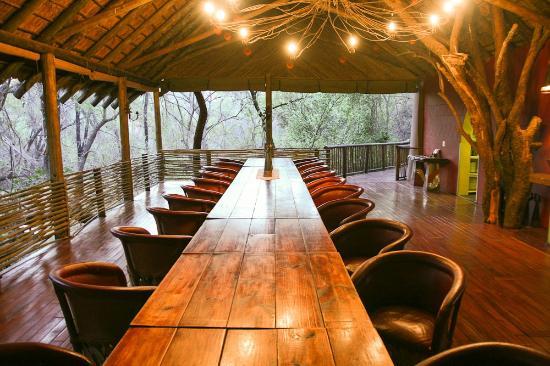 Jaci's Tree Lodge: Dining Area