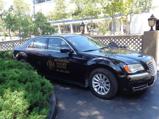Bethesda Court Hotel: Hotel Car Service