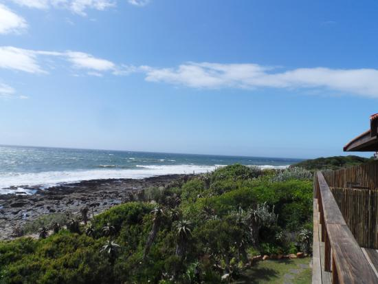 African Perfection Jeffreys Bay: View from our balcony