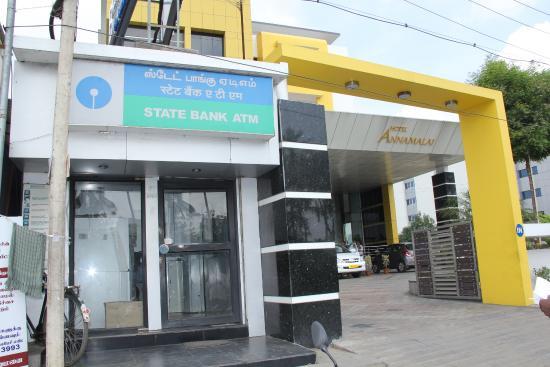 Hotel Annamalai International: ATM Facility in the Premises