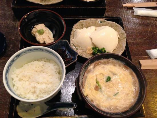 Yubadonnaokichi: 湯葉丼セット