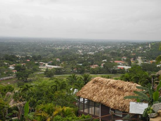Cahal Pech Village Resort: View from balcony
