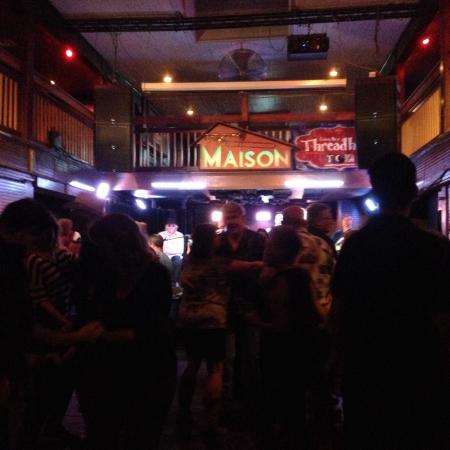 The Maison : Great zydeco band