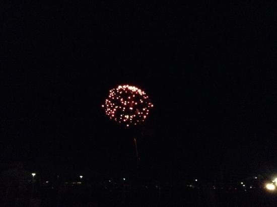 هيلتون جاردن إن لارامي: Fireworks!