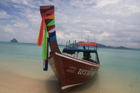 The Sevenseas Resort: Taxi boat there