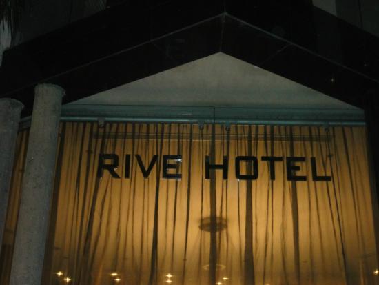 Rive Hotel : Vista de chegada