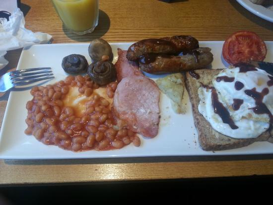 Premier Inn Wirral (Heswall) Hotel: Breakfast