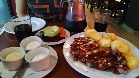 Pardos Chicken : Almoço