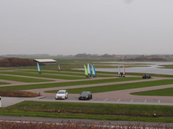 Fletcher Badhotel Callantsoog: Oefenbaan voor Blowkarts/kite surfing