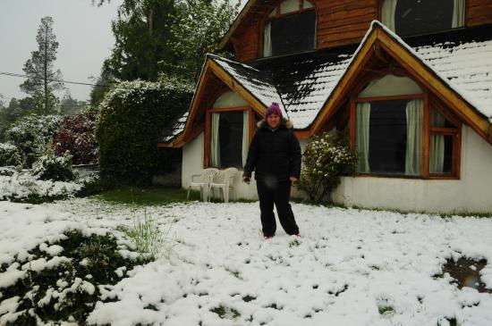 Cabanas Las Cuatro Estaciones: amanecimos nevados una felicidad enorme