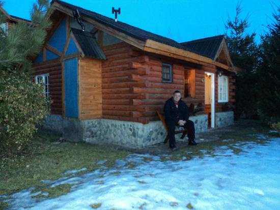 Cabanas Solares del Sur: a cabana que ficamos