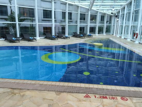 Indoor Heated Pool Picture Of Regal Airport Hotel Hong