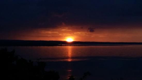 Camino Real Tikal : Por do sol!