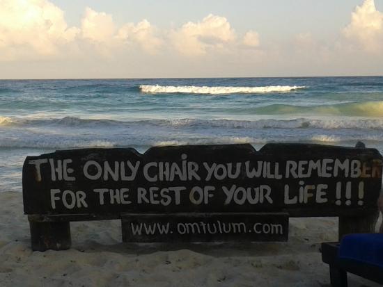 Om Tulum Hotel Cabanas and Beach Club: Never forget