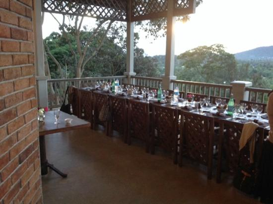 Onsea House Arusha: Dinner table