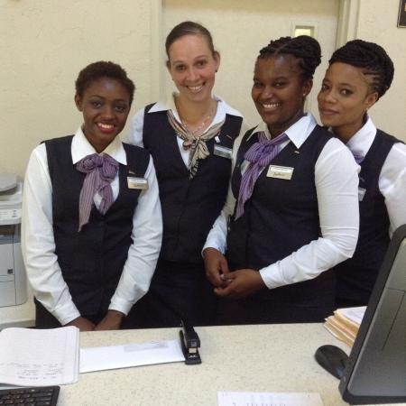 Radisson Grenada Beach Resort : Some Front Desk Staff