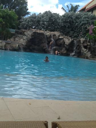 Radisson Grenada Beach Resort: The Waterfall
