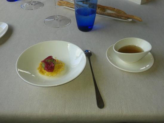 Ristorante La Parolina: antipasto con zuppetta alla ribollita