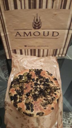 Amoud: La focaccia aux olives