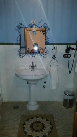 Cortijo Los Monteros: baño