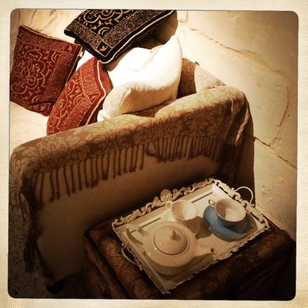Valletta Suites : Tea tray for an afternoon cuppa