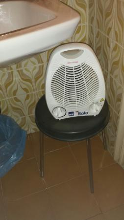 hotel nanda riscaldamento del bagno