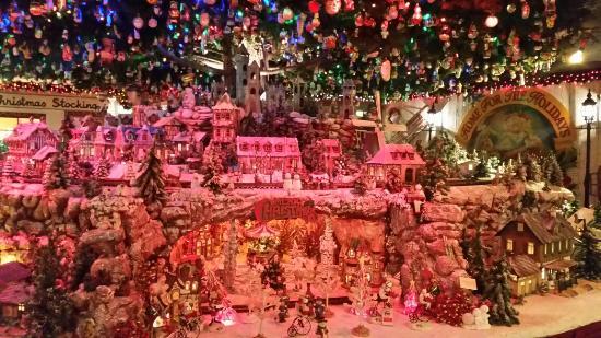 national christmas center christmas train garden