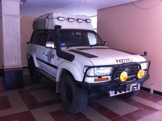Phils' Residency : A widerful vehicle we saw in the parking area
