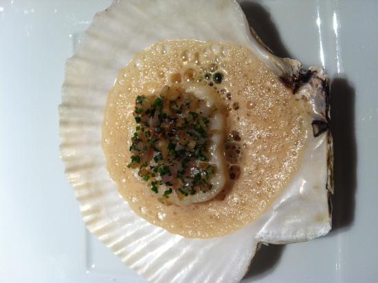 Tateru Yoshino Ginza: Scalop with Mushroom