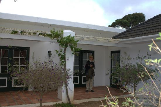 Waterkloof Guesthouse: Ingresso nostra suite, Tortoise Berry
