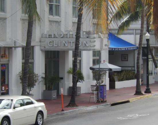 Clinton Hotel South Beach: ingresso hotel